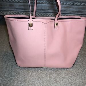 Rebecca Minkoff - Pink Large Tote with Laptop Case